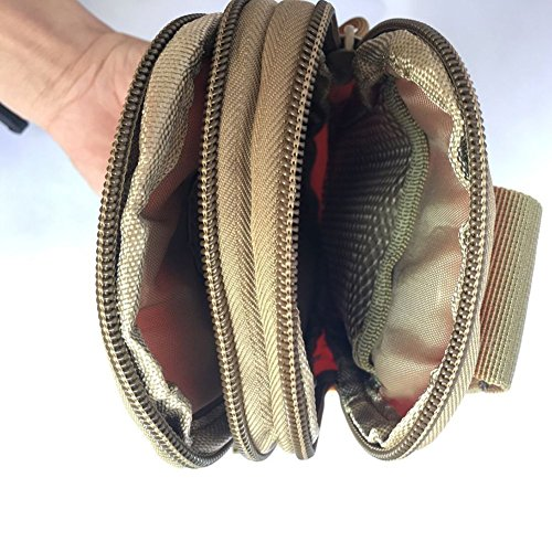 Outdoor Waist Bag Gürteltasche Sport wasserabweisend Taille Pack Tasche Running Gürtel Tasche Fanny Pack für Wandern Laufen Radfahren Camping Klettern Reisen