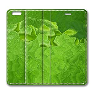 iPhone 6 Plus 5.5inch Leather Case, Green Water Luxury Protective Slim Fit Skin Cover For Iphone 6 Plus [Stand Feature] Flip Leather Case Cover for New iPhone 6 Plus