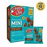 Enjoy Life Foods Enjoy Life Crunchy Mini Cookies, Soy Free, Nut Free, Gluten Free, Dairy Free, Non GMO, Vegan, Double Chocolate, 6 Boxes, 3.66 Pounds