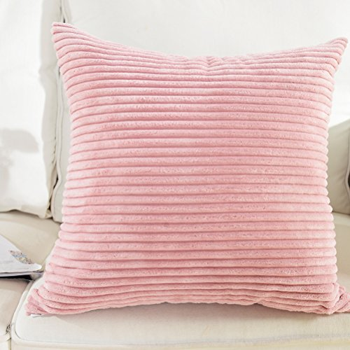 Brilliant Supersoft Corduroy Decorative Pillowcase