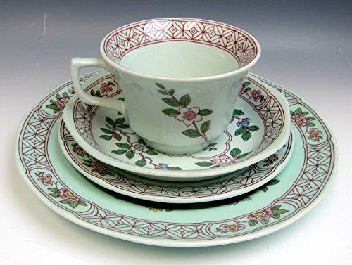 Lot of 4 Adams China SINGAPORE BIRD Cup,Saucer,Bread,&Salad plates (Ironstone Bread Plate)