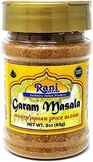 Rani Garam Masala Indian 11-Spice Blend 3oz (85g) PET Jar ~ All Natural, Salt-Free | Vegan | No Colors | Glute