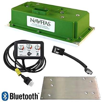 e-z-go rxv navitas 600-amp 48-volt ac upgrade controller kit with