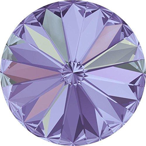 1122 Swarovski Chatons & Round Stones Rivoli Crystal Vitrail Light | 14mm - Pack of 4 | Small & Wholesale Packs ()
