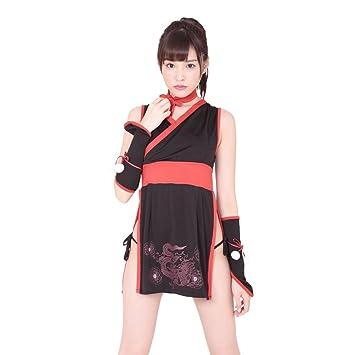 Sexy Princess Ninja Cosplay Costumes Black/Red (japan import ...