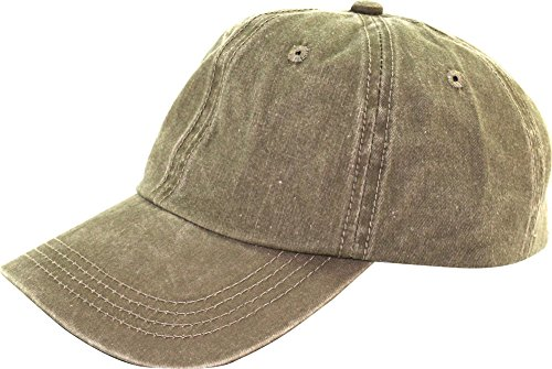7c8f9664976 Levine Hat Unisex Stone Washed Cotton Baseball Cap Adjustable Size (7+  Colors)
