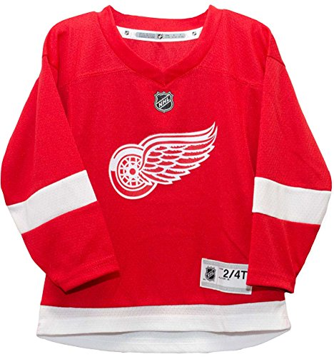 Outerstuff NHL NHL Detroit Red Wings Toddler Replica Jersey-Home, Red, Toddler One Size