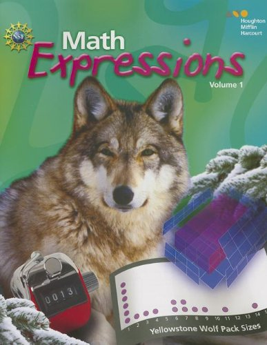 Math Expressions Common Core: Student Activity Book (Softcover), Volume 1 Grade 6 2012