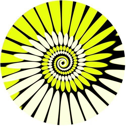 Zomo SLIPMAT-P-YL 2 Feutrines vinyles Paint Jaune