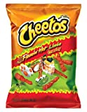 Cheetos Crunchy Flamin' Hot Limon, 9oz Bags (Pack of 10)