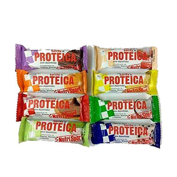 Barritas Proteicas Nutrisport