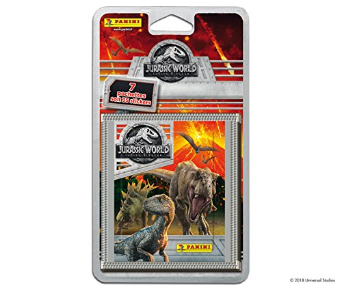Jurassic World (Edición 2018) - Paquete de 10 sobres (empaque puede variar)