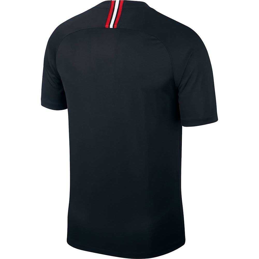 35a478addbfc78 Amazon.com   NIKE Paris Saint-Germain Air Jordan Men s Third Jersey  2018-2019 Black   Sports   Outdoors