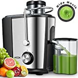 Cheap Juicer Juice Extractor, Aicok Wide Mouth Centrifugal Juicer, BPA-Free Food Grade Stainless Steel, Dual Speed Setting Juicer Machine with Anti-drip Function for Fruits and Vegetables
