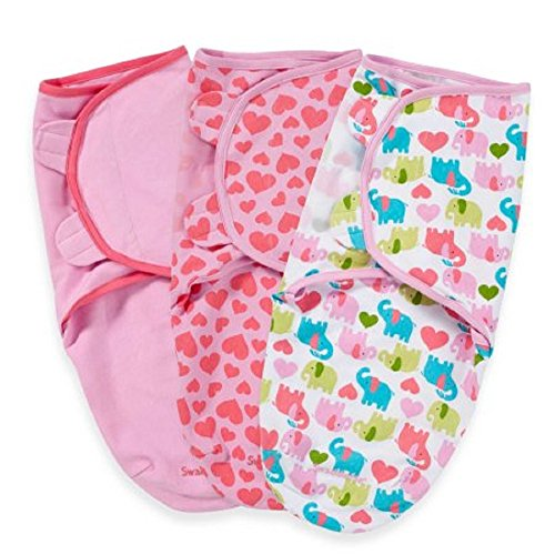SwaddleMe, Original Swaddle, Small 0-3M, 3 Pack