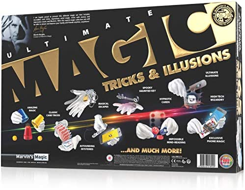 Marvins Magic Ultimate Magic Tricks and Illusions 365