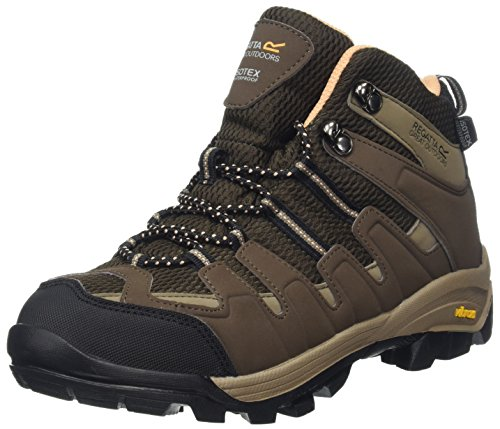 Regatta Lady Burrell, Women's High Rise Hiking Boots Brown (Brown/Coral)