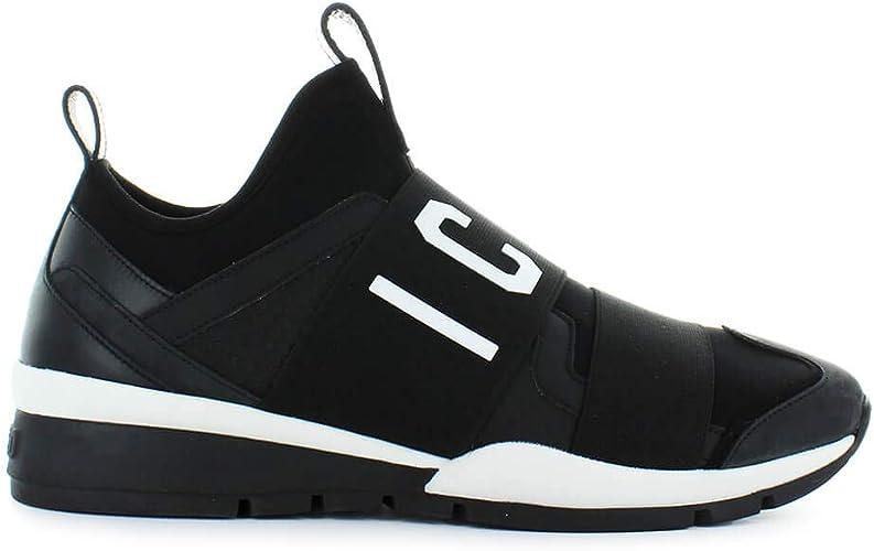 Dsquared2 Chaussures Homme Baskets Icon Néoprène Noir