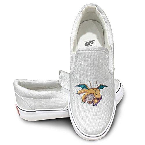 fiece-dragonite-dragon-claw-fashion-slip-on-canvas-sneakers-43-white