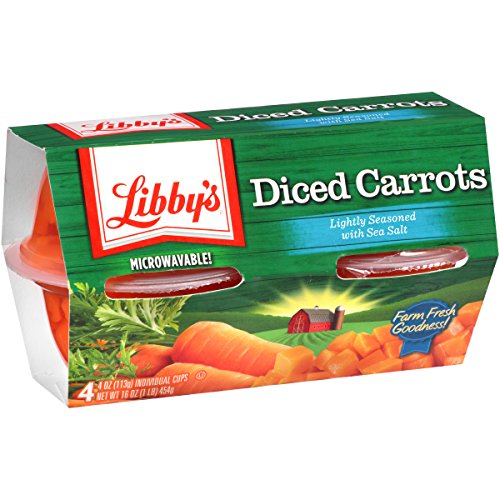 Libby's Carrots, 7.5 Pound (Pack of - Canned Vegetables Seneca