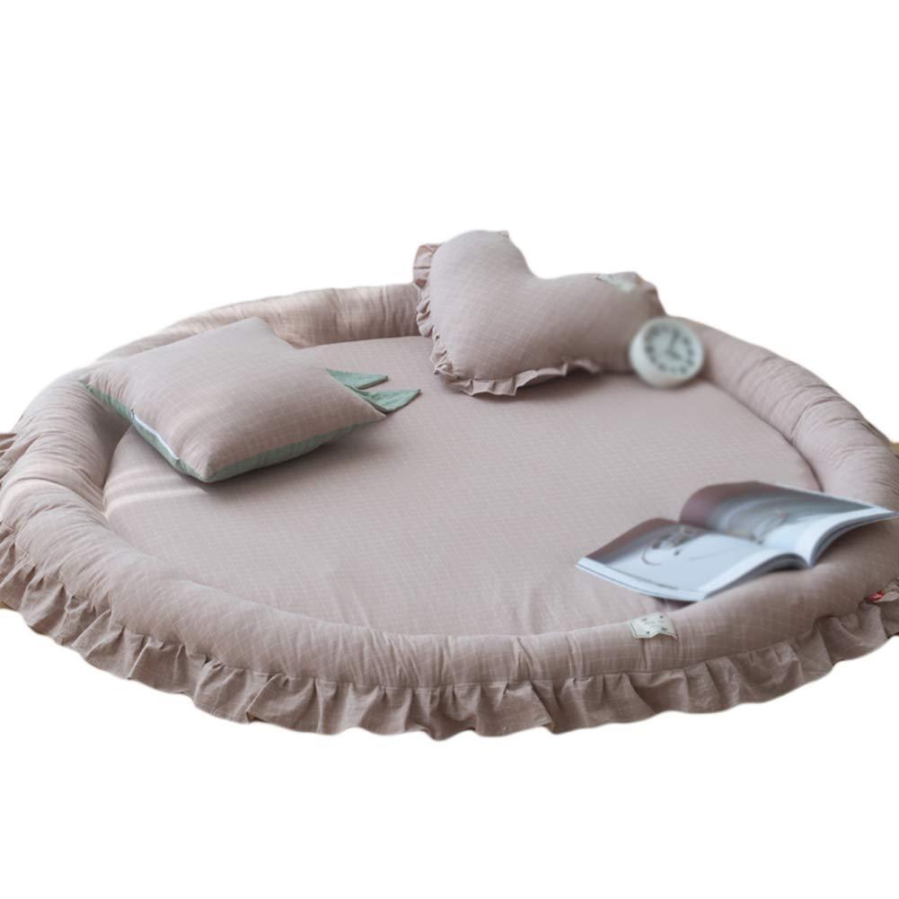 WXF Teppich Super weiche Teppiche für Schlafzimmer Kinderzimmer Wohnzimmer Spielzimmer Teppiche für Heim Kinderzimmer Dekor (größe : Carpet+square pillow)
