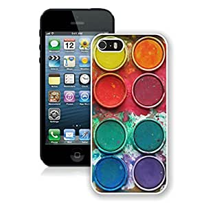 Popular Apple Iphone 5s Case Watercolor Sets With Brushes Art Soft Silicone Rubber White Phone Cover for Iphone 5