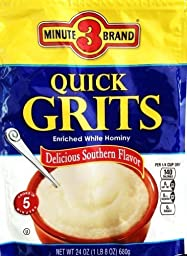 3 Minute Brand Quick Grits, 24 Oz (Pack of 1)