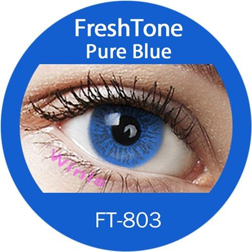 Farbige Kontaktlinsen Monatslinsen blau