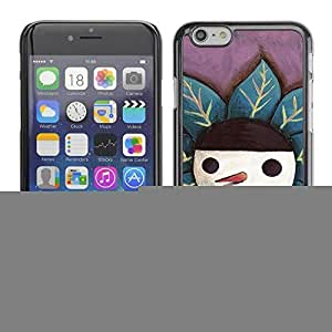 ka ka case unique design personality Cute Happy Snowman - iPhone 6 Plus 5.5
