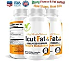 Cheap IcutFat Plus-clinically Proven Supplement with Powerful Weight Management Ingredients(60 Vegan Capsules, Sinetrol®, Guarana Extract, L-Carnitine, Mango Seed Extract, Green Tea Extract)