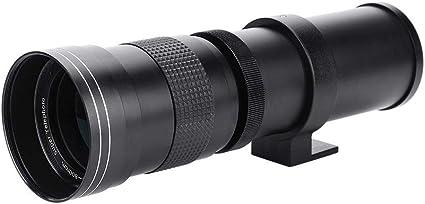 Topiky Lente de telefoto de cámara de 67mm,420-800mm F/8.3-16 ...