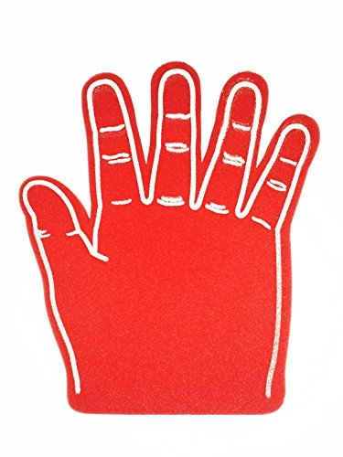 Giant Foam Hand, Red -