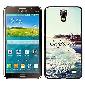 EJOY---Cubierta de la caja de protección para la piel dura ** Samsung Galaxy Mega 2 ** --Ca Sun Sea Surf Olas Cielo Azul