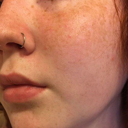 NewkeepsR 20G 8mm(5/16'') Hinged Clicker Nose Hoop Ring 316L Steel Seamless Segment Earrings Piercing Photo #5