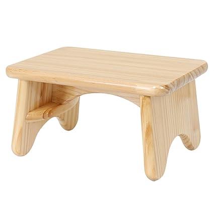Amazon.com: LQQGXL European chair Small stool, living room solid ...