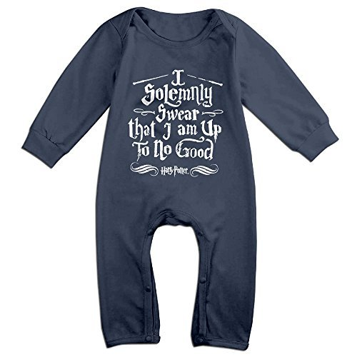 Harry Potter Outfit (WHITECROW Harry Potter Solemnly Cute Baby Outfits Navy Size 18 Months)