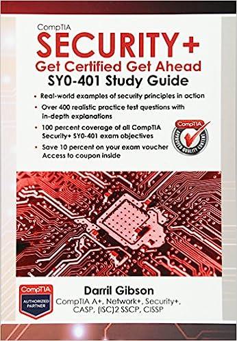 CompTIA Security+: Get Certified Get Ahead: SY0-401 Study Guide: Amazon.es: Darril Gibson: Libros en idiomas extranjeros