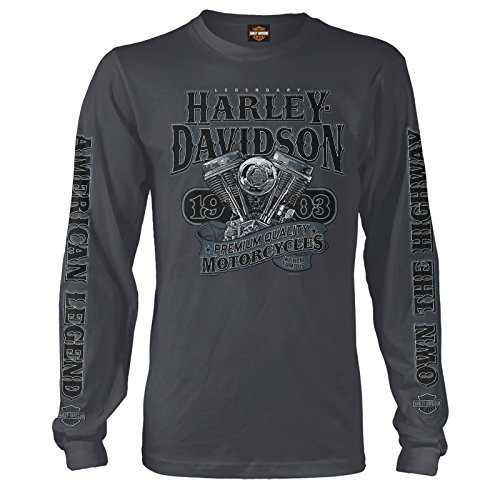 Harley-Davidson Long-Sleeve Tee – Big V-Twin | NAS Sigonella