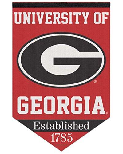 Football Premium Felt (NCAA University of Georgia Est. 1785 Premium Felt Banner 17x26)