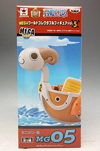One Piece Mega World Collectable Figure Vol.5 Mini Merry Banpresto Japan (Figure Mini One Piece World)