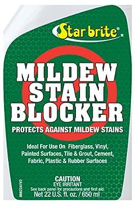 Star Brite Mildew Stain Blocker with Nano-Tech Barrier, 22-Ounce