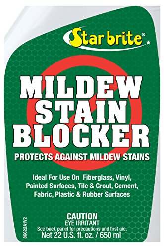 Star brite Mildew Stain Blocker With Nano Tech Barrier - 22 oz (Stain Removal Mildew)