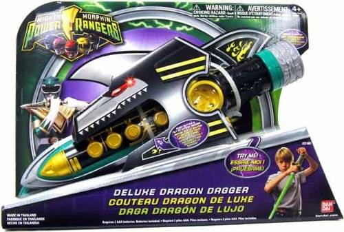 Power Rangers Mighty Morphin Deluxe Dragon Dagger