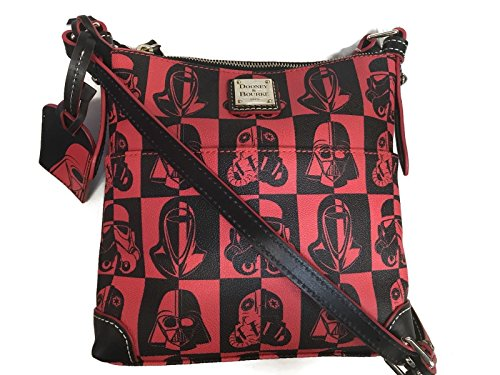 RunDisney Star Wars Marathon Weekend Dark Side 2017 Dooney & Bourke Crossbody Letter Carrier Purse