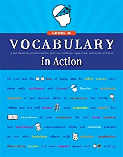 Amazon Com Vocabulary In Action Level H Word Meaning
