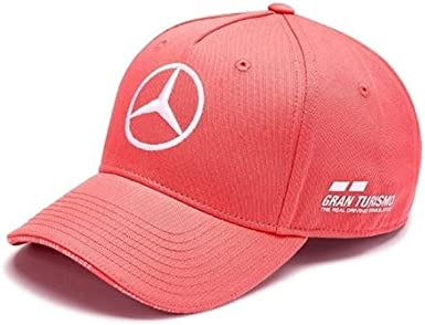 Amazon Com Mercedes Amg Petronas Adult 2019 Lewis Hamilton Uk British Gp Special Edition Cap Hat Cayenne Red Clothing