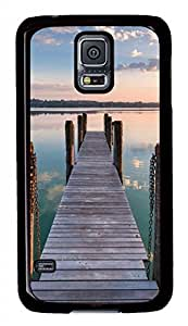 Beautiful Coast Black Hard Case Cover Skin For Samsung Galaxy S5 I9600