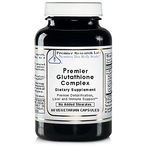 PREMIER RESEARCH LABS Premier Glutathione Complex - Support For the Liver, Nervous and Immune Systems (60 Capsules)