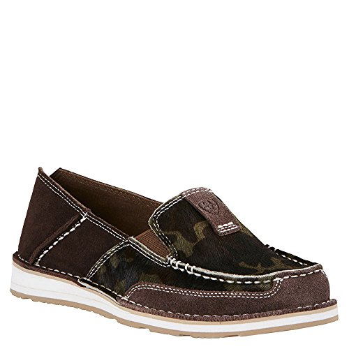 Ariat Womens Cruiser Rugged West 6 B Chocolate Chip Suede (Womens Cruiser)