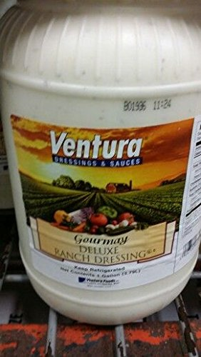 Ventura Deluxe Ranch Dressing 1 Gal (2 Pack)